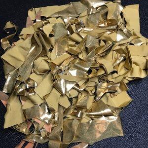 👻 1lb Gold Metallic Fringe Sewing Kids Crafts
